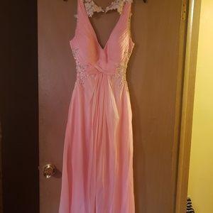 Long Chiffon Evening Party Dress Formal Prom